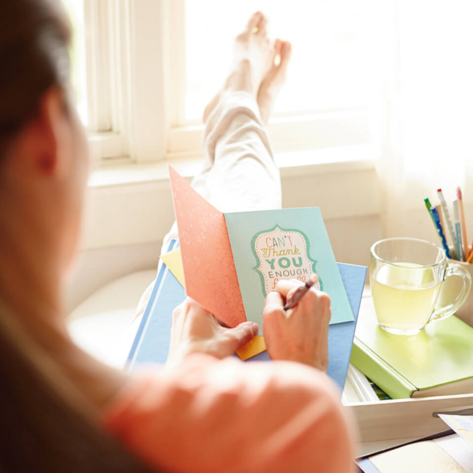HOW TO BUILD A LETTER-WRITING HABIT