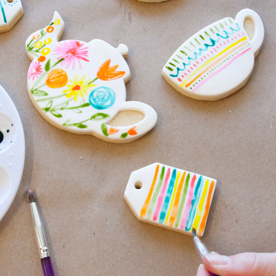 MOTHER'S DAY PAINTED TEA COOKIES