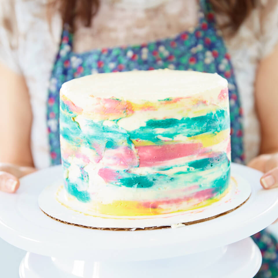 CAKE DECORATING: 3 NAKED (and not-so-naked) CAKES