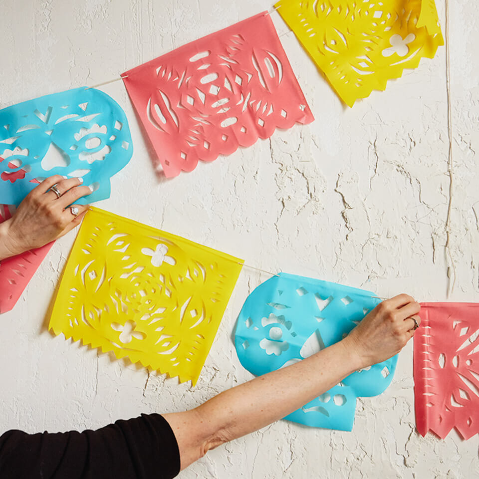DIY PAPEL PICADO: MAKE CUT PAPER BANNERS FOR DAY OF THE DEAD