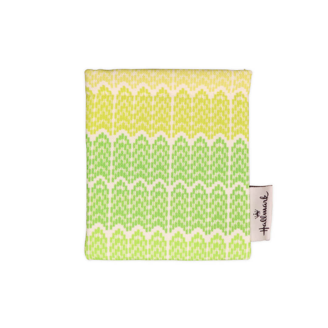 Multi-Purpose Cable Pouch (Yellow Green Aztec)