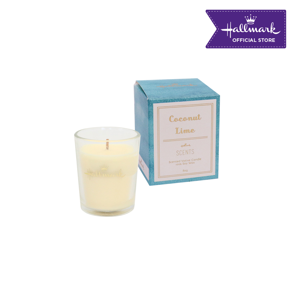 Hallmark Scented Votive Candle 80g (Coconut Lime)