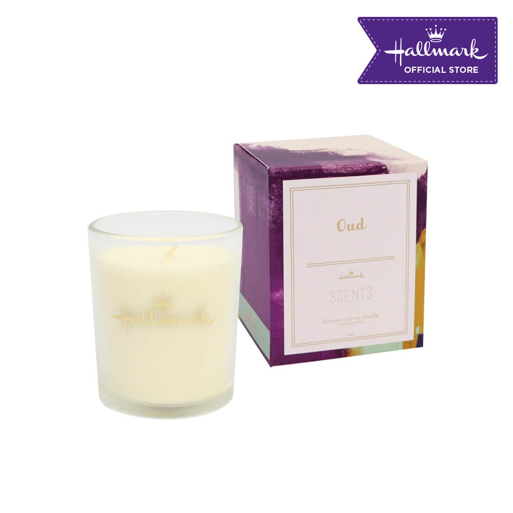 Hallmark Scented Votive Candle 160g (Oud)