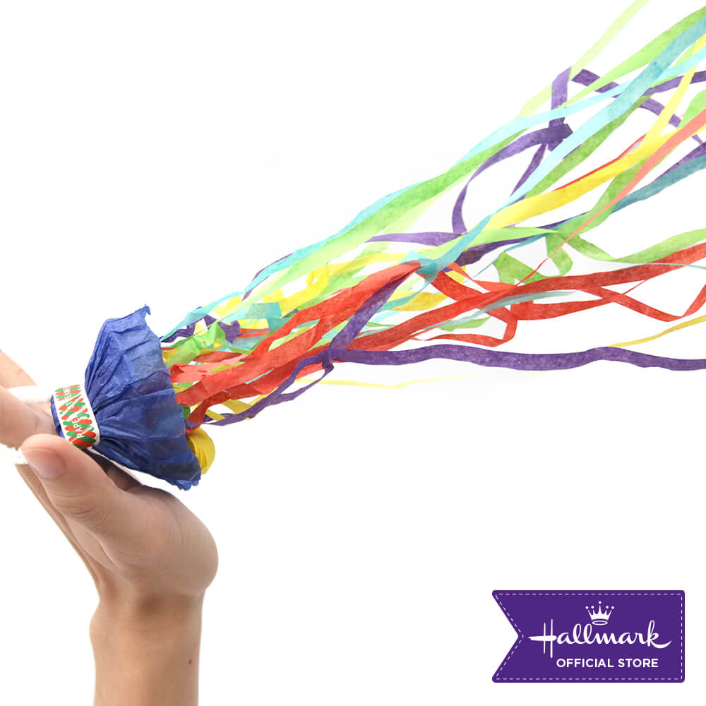 Hallmark Party Party 2 pcs Handthrow Streamers (Multi-Colored Confetti)