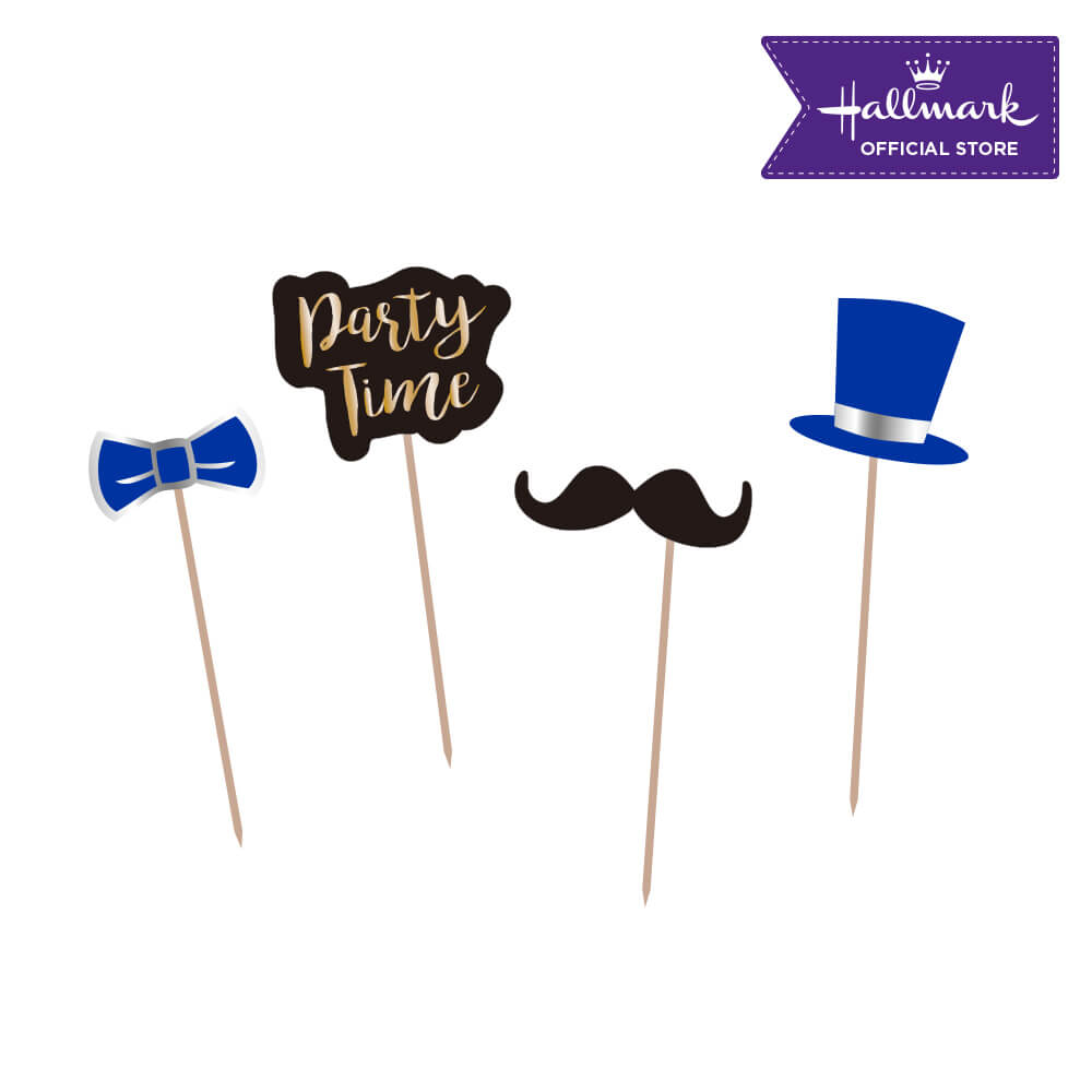 Hallmark Party! Party! Gentlemen Birthday Cake Toppers