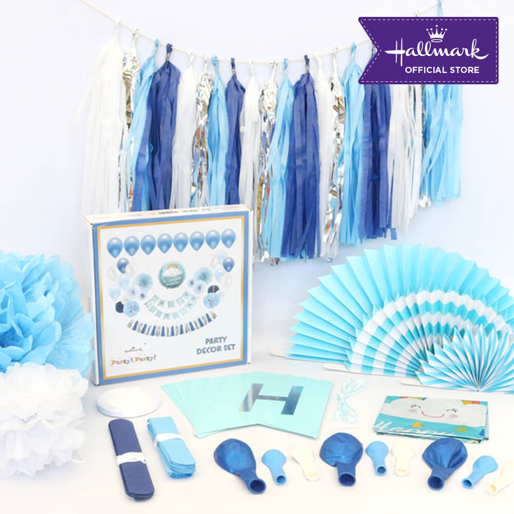 Hallmark Party! Party! Luxury Party Decor Set (Blue)